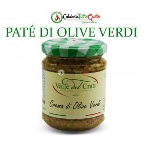 Crema Patè di Olive Verdi all'Olio d'Oliva