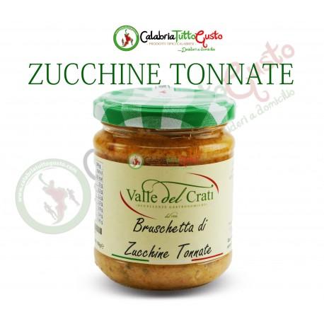 Bruschetta di Zucchine Tonnate all'Olio d'Oliva
