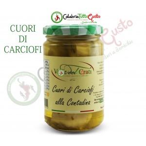 Cuori di Carciofi alla Contadina in Olio d'Oliva