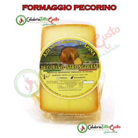 Formaggio Pecorino Calabrese semistagionato  500/600gr