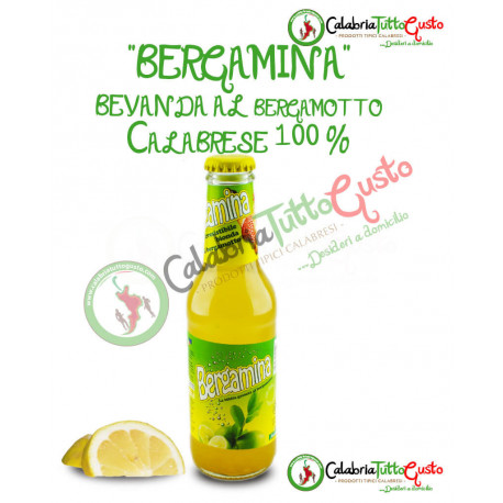 Bibita al Bergamotto - Bergamina confezione da 4  bott. da 18cl