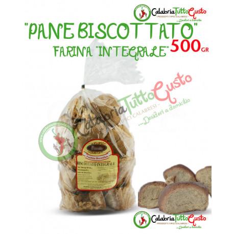 Pane Biscottato Calabrese Farina Integrale (500 gr.)