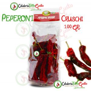 Peperoni Crushi Secchi da 100 gr